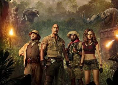 It gets worse here everyday – recenzja filmu Jumanji 2: Przygoda w dżungli | Nie Tylko Gry