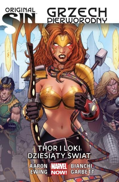 Recenzja komiksu Original Sin - Thor i Loki - Dziesiąty świat | Nie Tylko Gry
