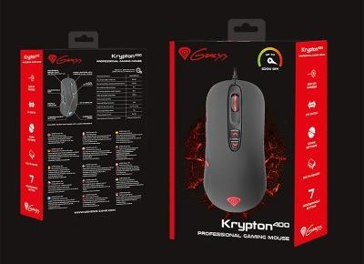 Twój nowy gryzoń za bezcen. Recenzja myszki dla graczy Genesis Krypton 400. | Nie Tylko Gry