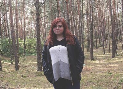 Jesienny las i autoportret w lesie, bez statywu!