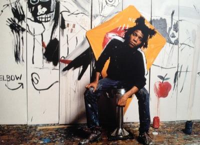 Jean Michel Basquiat: Promienne dziecko tańczące ze śmiercią — Nieproszeni Goście