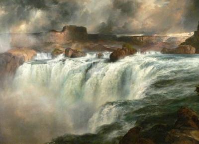 Thomas Moran: z brytyjskiego Bolton, przez Yellowstone aż do Białego Domu