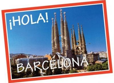 Pocztówka z Barcelony!
