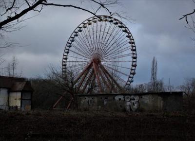 Spreepark Berlin - opuszczone wesołe miasteczko