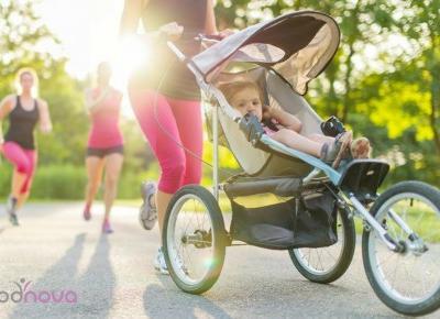 Nie, nie jesteś zbyt zajęta, aby ćwiczyć. 14 sposobów na bycie fit mamą.