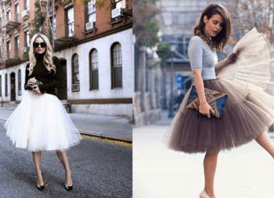 Do czego nosić tiulowe spódnice?
