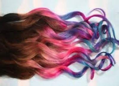 Jak zafarbować włosy bibułą?