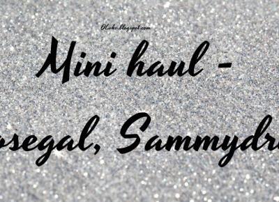 MINI HAUL- SAMMYDRESS / ROSEGAL  6.12.2016 -                        - Olivkv -