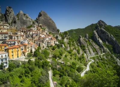 Między szczytami - Castelmezzano i Pietrapertosa
