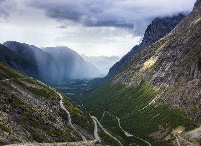 Golden Road i Trollstigen - niesamowita droga Norwegii