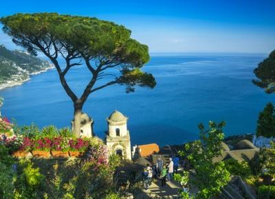 Villa Rufolo w Ravello, czyli kwieciste tarasy wybrzeża Amalfi