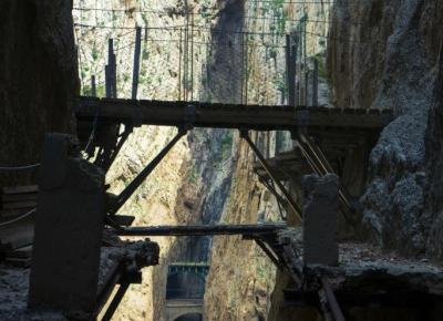 Caminito del Rey, piękne widoki wyprane z adrenaliny