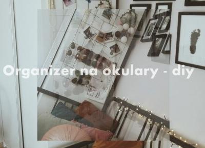 Diy: organizer nie tylko na okulary. - Podróż na księżyc