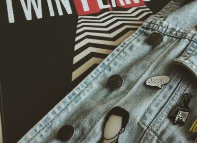 Przypinki dla fana Twin Peaks - diy. - Podróż na księżyc