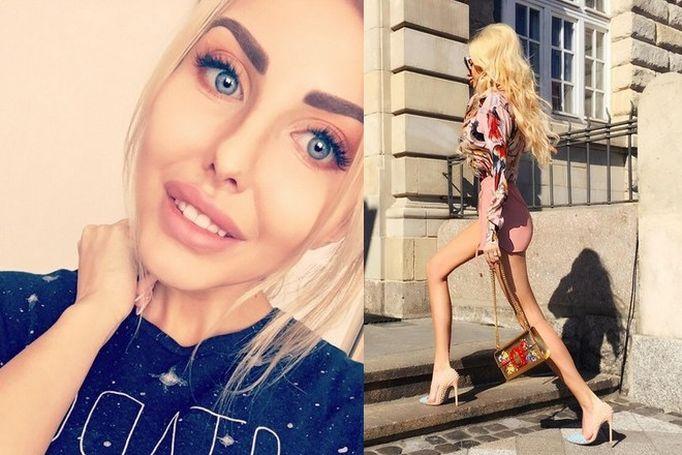 Ile waży polska żywa lalka Barbie - Anella?