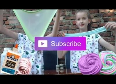 Robimy Slime Na Ślepo Challenge ♡ + Moja siostra