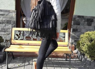 Pativnn: BLACK & GRAY & FRINGE