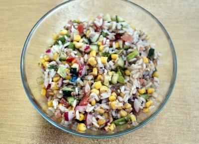 Pomysl na obiad - salatka z tunczykiem - Kobiecym okiem