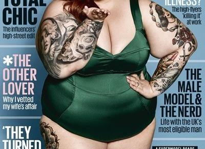 COSMOPOLITAN promuje otyłość? - Paula Dowlasz