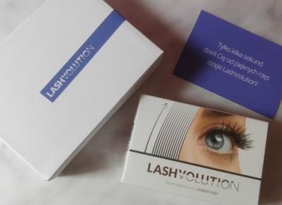 Myfantasyandme: Lash Volution - kuracja trzymiesięczna