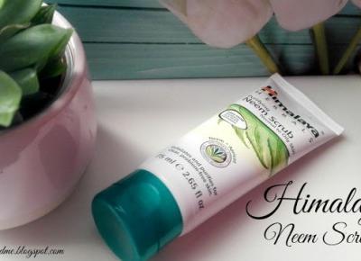 Myfantasyandme: Himalaya Herbals, Neem Scrub, czyli peeling nie taki straszny, a może za delikatny?