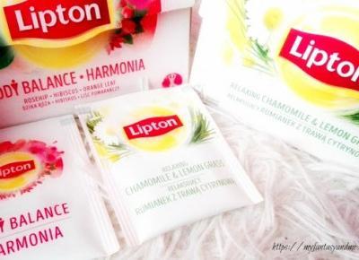 Myfantasyandme: Lipton - Body Balance, Sweet Nights, Relaxing, czyli moc herbat ziołowych !