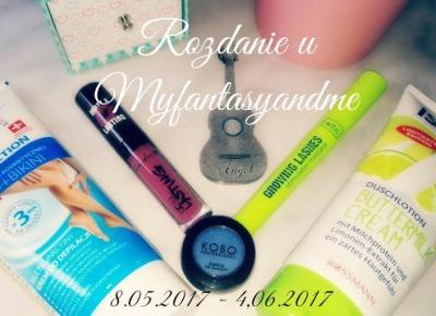 Myfantasyandme: Rozdanie z okazji 100 obserwatorów! :)