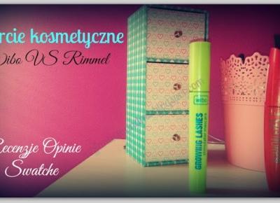 Myfantasyandme: Starcie kosmetyczne Wibo VS Rimmel