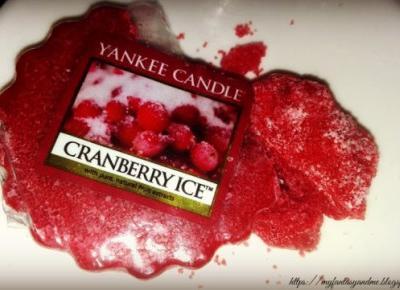 Myfantasyandme: Cranberry Ice, czyli mrożona żurawina w jesiennie dni - Yankee Candle