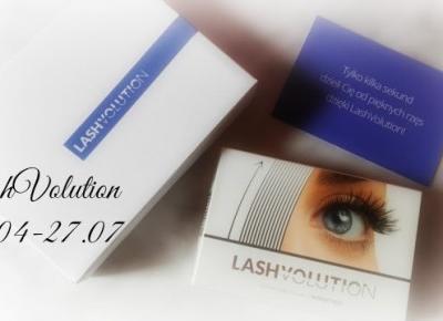 Myfantasyandme: LashVolution - Moja trzymiesięczna kuracja - START 27.04-27.07