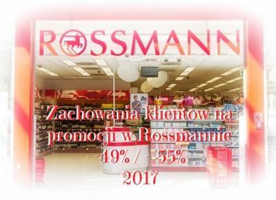 Myfantasyandme:  Rossmann -49%/-55% - zachowania klientów w drogerii - Moja opinia