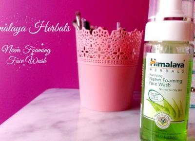 Myfantasyandme: Himalaya Herbals - Pianka do oczyszczania twarzy - jak się sprawdziła?