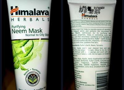 Myfantasyandme: Himalaya Herbals - Purifying Neem Mask - Maska oczyszczająca z miodli indyjskiej