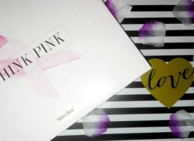 Myfantasyandme: ShinyBox Think Pink, MOJE PIERWSZE PUDEŁKO :)