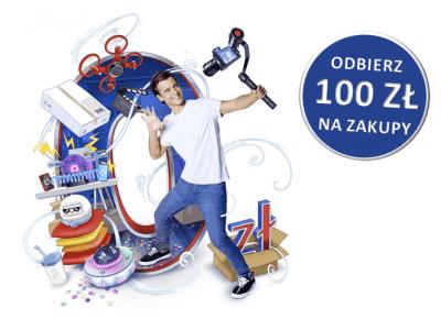 Bon Allegro 100 zł - gwarantowany prezent za Konto dla Młodych w PKO BP