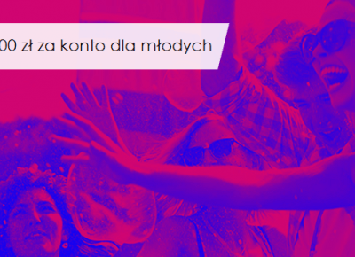 mBank: premia 100 zł za eKonto m (dla osób w wieku 18-24 lat)