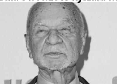 Ryszard Kotys nie żyje, miał 88 lat