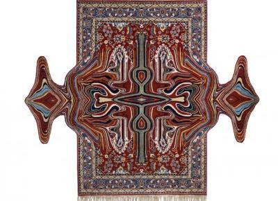 Rozpikselowane dywany splatają tradycję z glitch artem | VICE | Polska