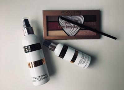 Makeup Revolution - kilka nowości w mojej kosmetyczce