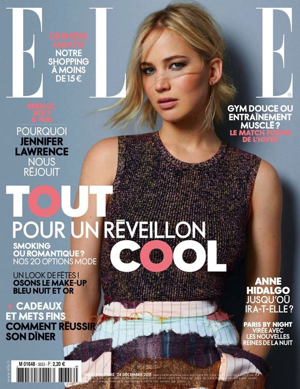 Dorota Rasberrrt: Jennifer Lawrence na okładce ELLE France