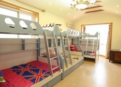 pokój dziecka z łóżkiem piętrowym. Łóżko piętrowe. - LuxDecori.pl