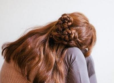 Walentynkowe fryzury w kształcie serca