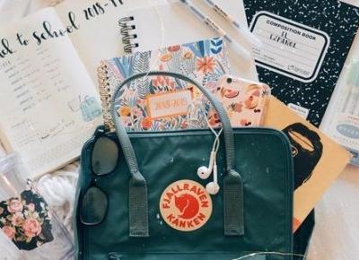 Co powinno się znaleźć się w Twoim plecaku? Nie tylko zeszyty i książki...