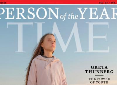 Greta Thunberg Człowiekiem Roku Time