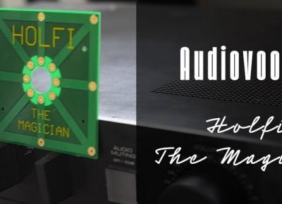 Holfi The Magician – niepoważny test audiofilskiej płytki