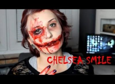 *CHELSEA SMILE* TUTORIAL NA HALLOWEEN - Ruda Wiedźma