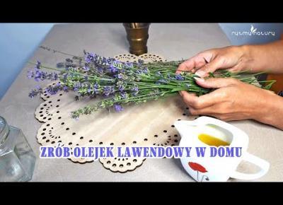 Jak zrobić olejek lawendowy w domu. Poznaj mój szybki i prosty sposób!
