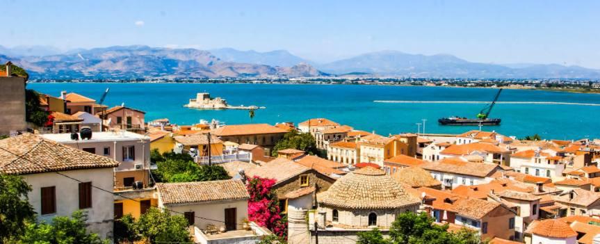 Zwiedzanie Nafplio (Nauplion) – miasteczka w sercu Peloponezu – Słodkim Szlakiem