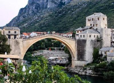 Mostar – kamienne miasto tysiąca świateł – Słodkim Szlakiem