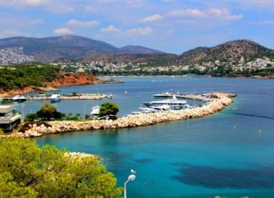Okolice Vouliagmeni – w stronę ateńskiej Riwiery – Słodkim Szlakiem